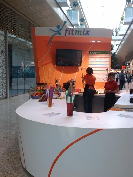 FitMix bol doteraz iba v bratislavskom Auparku