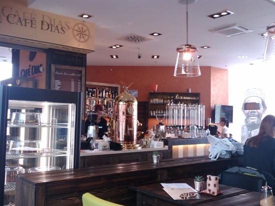 Snáď sa v tomto Café Dias obsluha vydarí lepšie