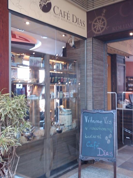 Ponuka piatej pobočky Café Dias (ak správne rátame)