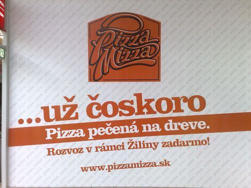 Pizza Mizza prichádza do Žiliny, koncept Expres pribudne o pár dní v Mirage