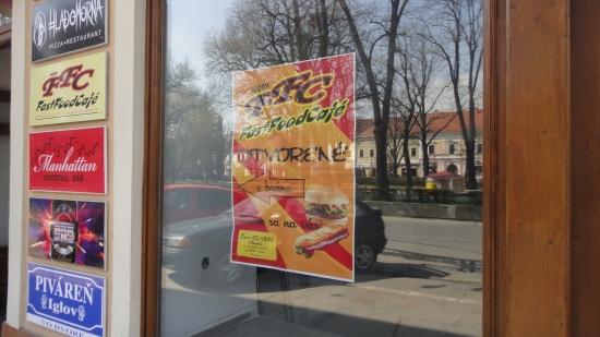 Nie KFC, ale FFC - Fast Food Café