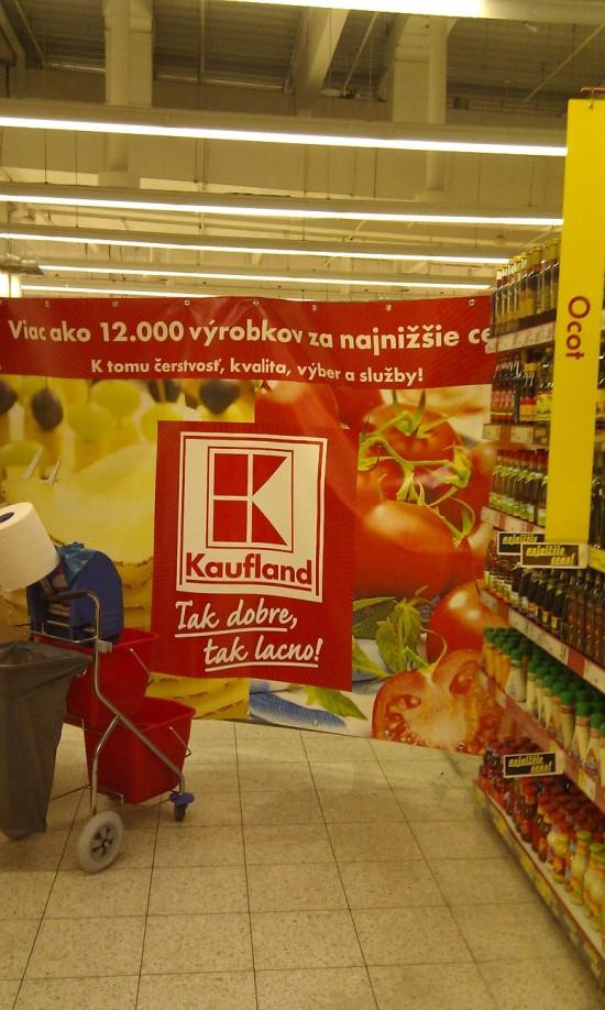 Kaufland Trnavská cesta Bratislava modernizuje
