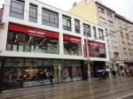 Exteriér predajne Lacné knihy v Bratislave na Obchodnej 26