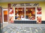Exteriér pekárne Lipót v Nových Zámkoch