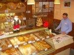Interiér pekárne Lipót v Nových Zámkoch