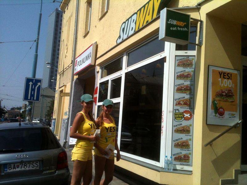 6114b9ae8e Subway v najväčšej slovenskej kampani láka na sendvič za euro ...