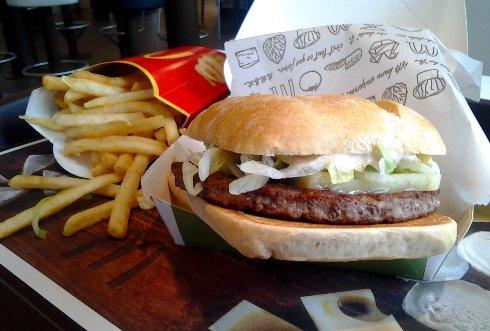 Chef a hranolčeky v McDonald's
