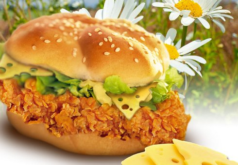 Promo KFC na Cheesyburger