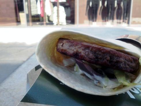 Tzatziki Beefwrap v McDonald's