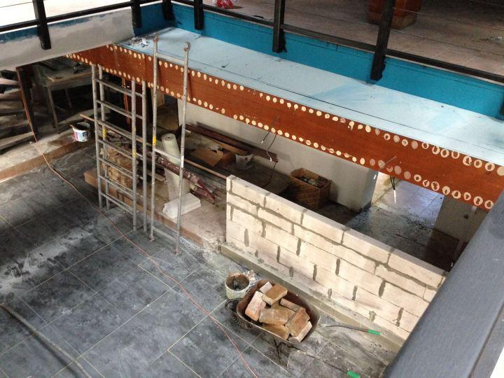Príprava priestorov Klubu 39 v Mlynskej doline. Foto: Medusa Group