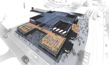 Boxpark Croydon. Zdroj: BDP Architects